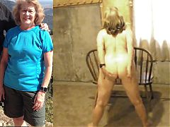 Mature Linda asks for exposure and humiliation