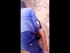 african couple caught fucking in public - outdoor sex voyeur