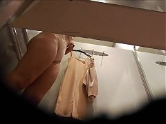Hot milf in dressing room