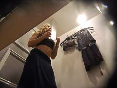 FitTeen in Dressing Room