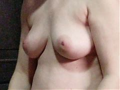 Some voyeur homemade of my wifes big tits