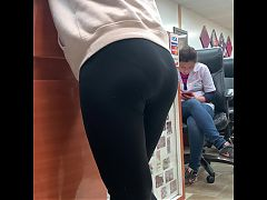 Tonyas Candid Leggings Ass